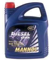 дизельное моторное масло Mannol полусинтетика